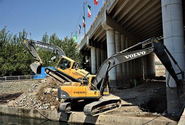 آغاز مقاوم سازی یک پل پررفت و آمد در غرب پایتخت