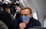 الکسى ناوالنى ناراضى روس برلین را به مقصد مسکو ترک کرد