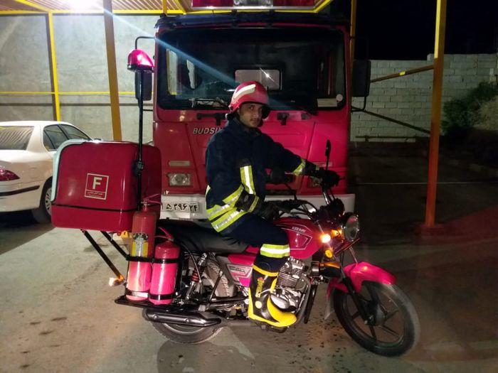 جایگاه های آتش نشانی شادگان به تجهیزات و امکانات جدید مجهز شدند
