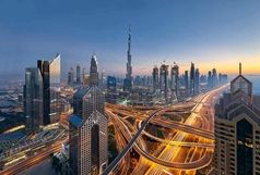 آتشسوزی در برجی در امارات