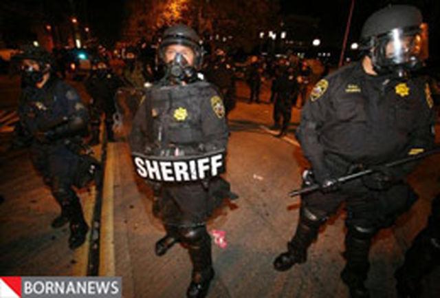 افزایش خشونت پلیس علیه معترضان وال استریت + تصاویر