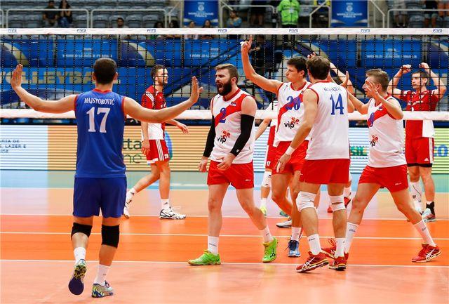 دومین برد صربستان رقم خورد