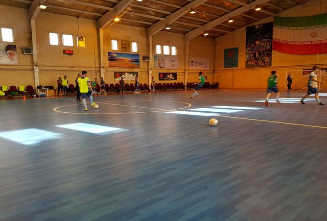 برگزاری تمرین تیم ملی فوتسال پیش از اعزام به اسلواکی