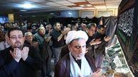 حضور وزیر بهداشت درجمع عزاداران حسینی