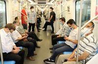 رعایت پروتکلهای بهداشتی در ایستگاههای مترو/ ممانعت از تردد افراد فاقد ماسک