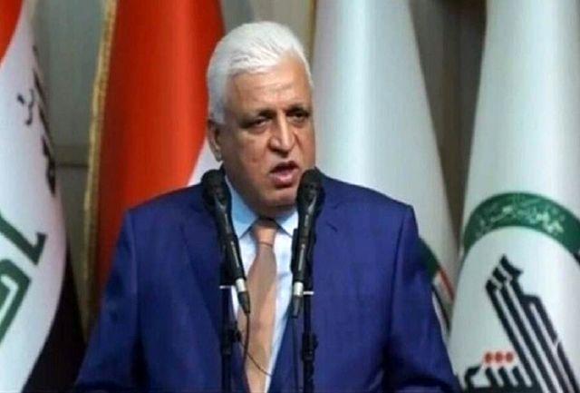 الحشد الشعبی پشتیبان و حافظ خاک عراق است