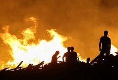 دود آتش سوزی هورالعظیم 250 نفر را روانه بیمارستان کرد