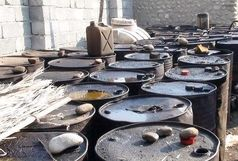 کشف 37هزار لیتر گازوئیل قاچاق در میناب