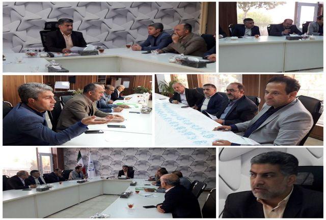 برگزاری نشست شورای معاونین در شهرداری نسیم شهر