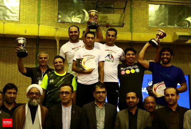 خوزستان قهرمان رقابت های کشتی فرنگی کشور شد/تهران و قم در جایگاه دوم و سوم ایستادند
