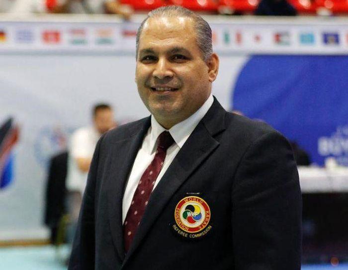 سلیمی رئیس داوران و نماینده فنی فدراسیون جهانی در کاراته وان روسیه شد