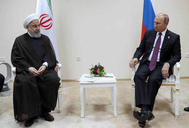 رایزنی روسای جمهور ایران و روسیه
