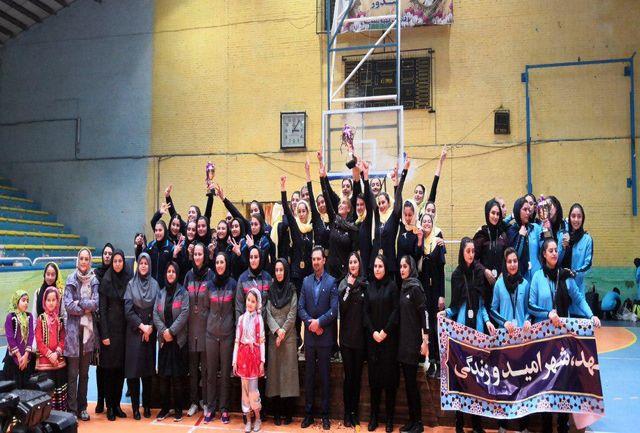 خانه بسکتبال کردستان قهرمانی لیگ دسته یک بسکتبال بانوان شد
