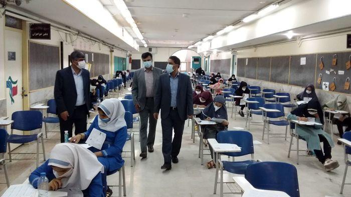 برگزاری آزمون استعدادهای درخشان ورودی پایه هفتم شهرستان قرچک