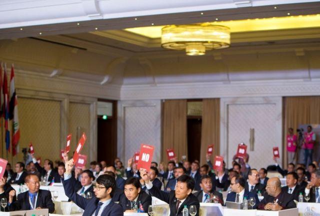 ردپای قطر در لغو انتخابات فیفا / فیفا پیام آسیا را شنید!