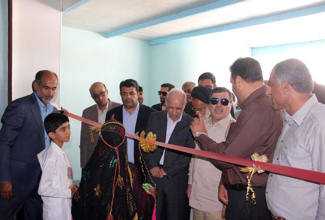 افتتاح شرکت تولید آب آشامیدنی در شهرستان جاسک