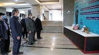 ادای احترام معاون کل وزیر بهداشت، درمان و آموزش پزشکی به مقام شهدای مدافع سلامت استان زنجان