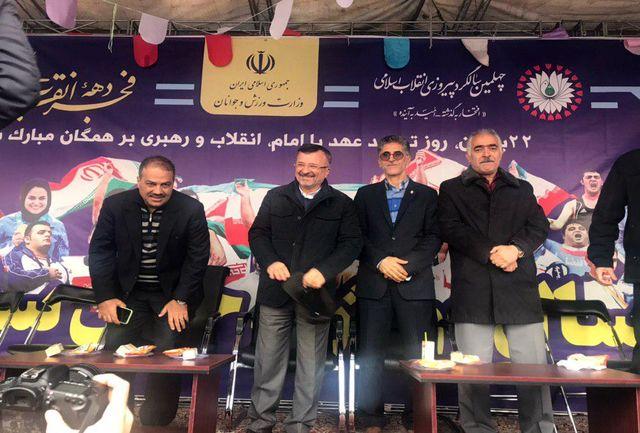 داورزنی، احمدی و مظلومی در جشن انقلاب شرکت کردند