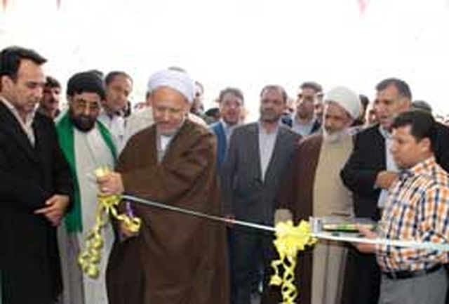 افتتاح مركز بهداشتی درمانی فاز 7 شهرجدید هشتگرد