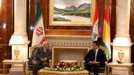 ظریف در دو مرحله با رئیس اقلیم کردستان عراق گفت وگو کرد