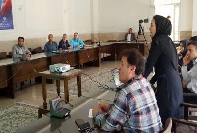 کلاس آموزشی نرم افزار اتوماسیون اداری در مجموعه شیرودی برگزار شد
