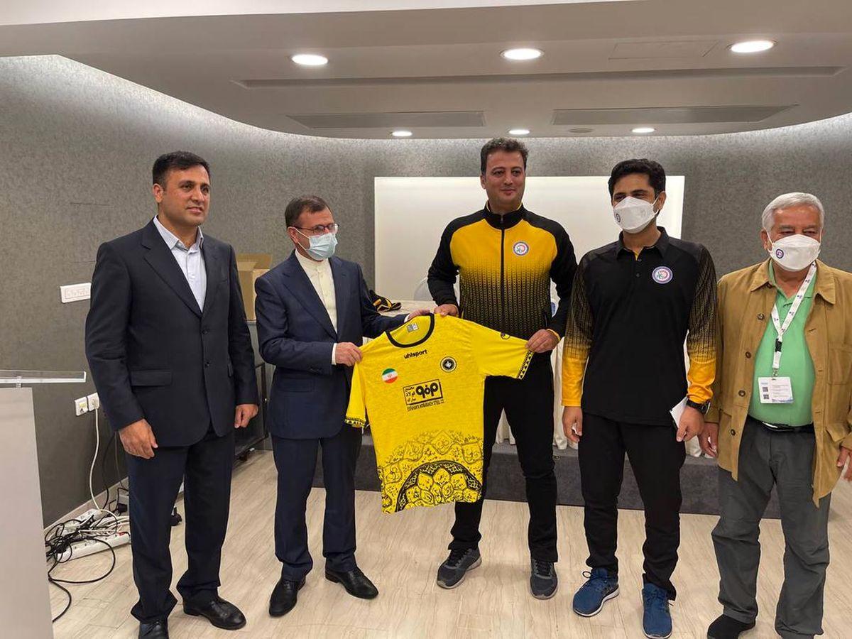 گسترش همکاری سپاهان با باشگاههای یونانی