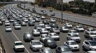 آزادراه قزوین_کرج-تهران زیر بار ترافیک سنگین
