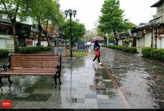 باران و کاهش دمای هوا در راه گیلان