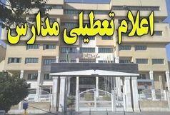 مدارس تهران فردا دوشنبه هم تعطیل شد!