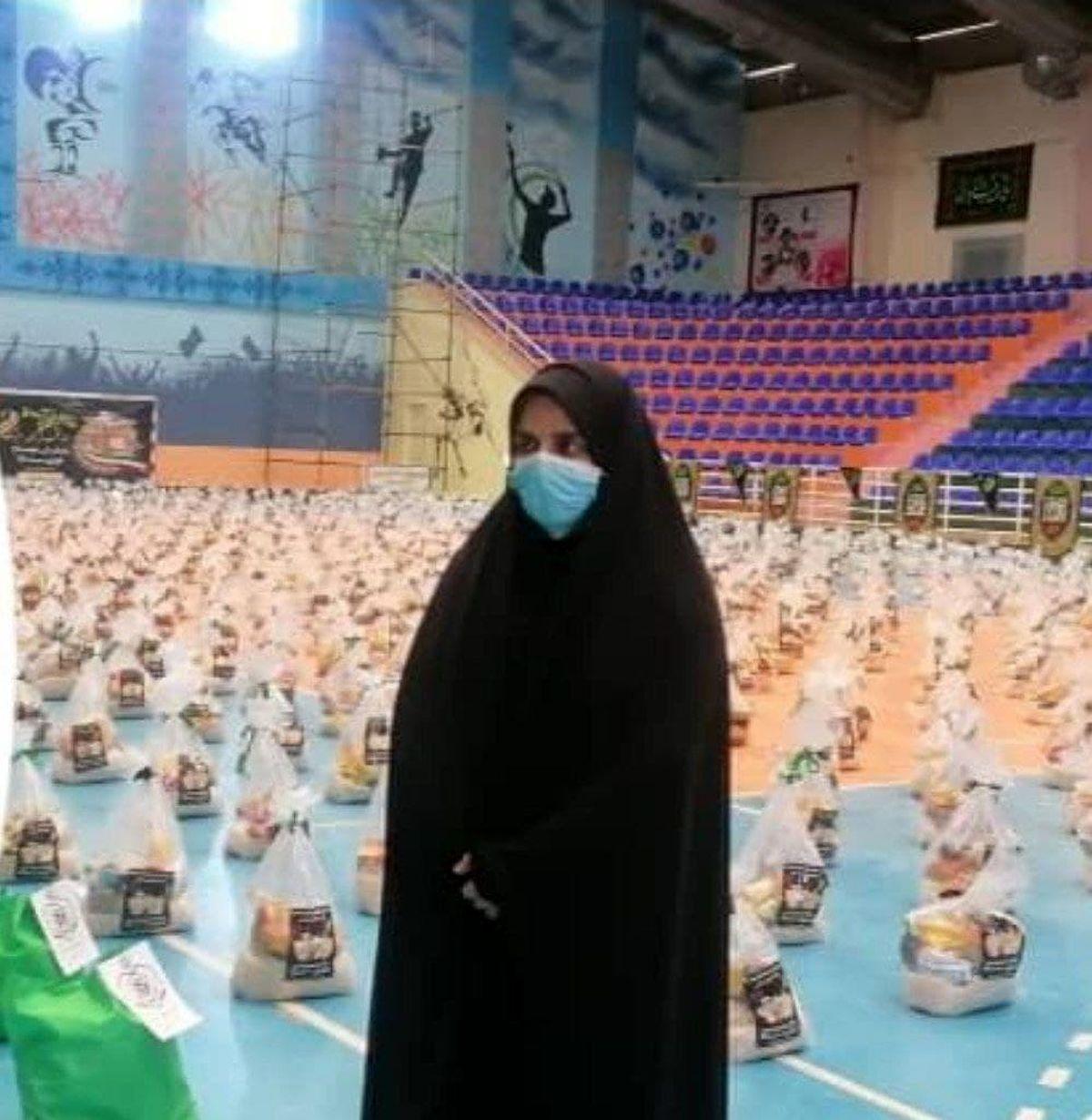 برگزاری رزمایش کمک های مومنانه  شور حسینی  بنیاد خیریه آبشار عاطفه ها در لرستان