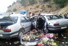 در تصادف زنجان، بیجار ، قیدار ، ۲ نفرکشته و ۴ مصدوم شدند