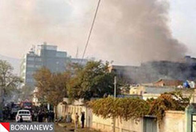 حمله موشکی به سفارت امریکا در بغداد
