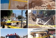 تعمیرات غیرمجاز مالک باعث ریزش ساختمان شد
