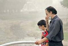 هوا در برخی مناطق برای گروههای حساس ناسالم