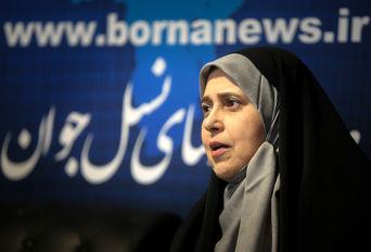 حضور پروانه سلحشوری نماینده مجلس شورای اسلامی در خبرگزاری برنا