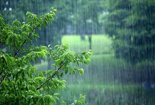 بارش رگباری باران در قزوین آغاز شد