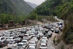 ترافیک پرحجم در محورهای شمالی کشور