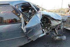 سانحه رانندگی در محور