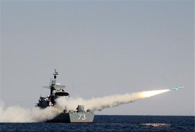 ایران در آخرین رزمایش دریایی خود موشک کوتاهبرد ضد کشتی آزمایش کرد