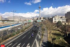 کیفیت هوای پایتخت قابل قبول است