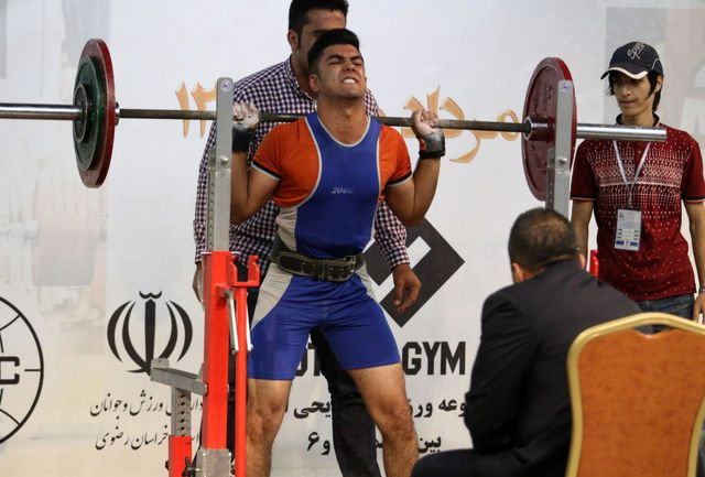 کردستان مقام سوم رقابت های پاورلیفتینگ بدون لوازم قهرمانی کشور را کسب کرد