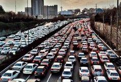 ترافیک در بزرگراههای تهران