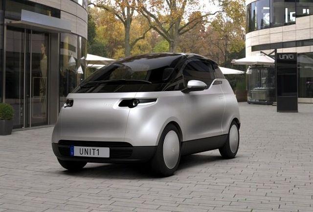 تولید یک خودروی برقی شهری