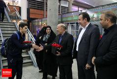 مراسم استقبال از افتخارآفرینان ووشوی ایران/ ببینید