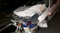 سه کشته و مصدوم در تصادف جاده دهدشت - قلعه رئیسی