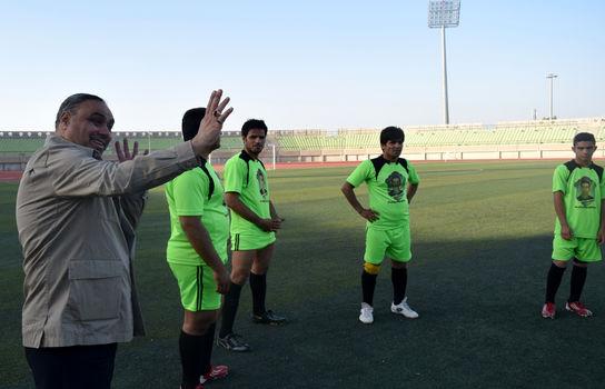 مسابقه تیم حبل المتین با سپاهان زاهدان
