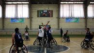 ورزشکار قزوینی در اردوی تیم ملی بسکتبال با ویلچر