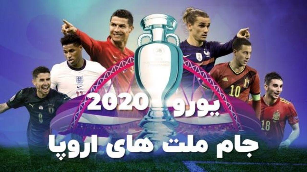 «مجله ورزشی» از رقابت های فوتبال یورو 2020 می گوید