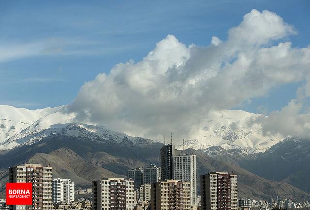پایتخت نشینان امروز هوای مطلوب تنفس میکنند