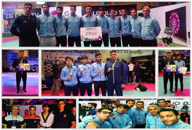 درخشش تکواندوکاران لرستانی در مسابقات قهرمانی کشور